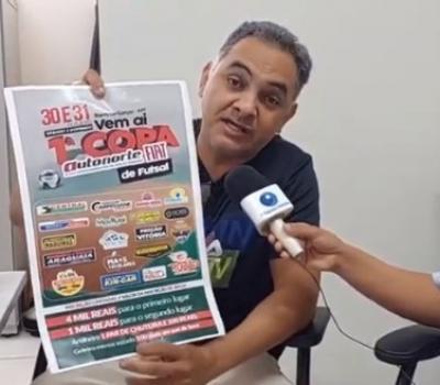 VEJA VÍDEO: Contagem regressiva para Copa Autornorte/Fiat em Barra do Garças, de 30 e 31/10