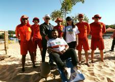 Projeto Praia Acessível é uma das novidades na temporada de Aragarças; VEJA VÍDEO