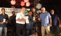 VEJA VÍDEO: Artistas de Aragarças vencem o 1º Festival Rio Abaixo contra concorrentes de outros estados