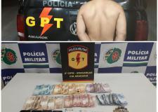 VEJA VÍDEO: PM descobre droga escondida no fundo falso de uma cama em Aragarças