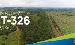 Governo de MT asfalta rodovia de Cocalinho a Nova Nazaré VEJA VÍDEO