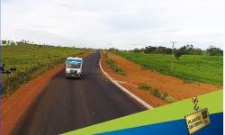 VEJA VÍDEO Mato Grosso asfalta rodovia de Cocalinho a Nova Nazaré