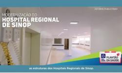 Com mais investimentos na saúde de Mato Grosso VEJA VÍDEO