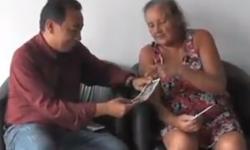 VEJA VÍDEO: Mulher vítima de violência pede ajuda em Barra do Garças
