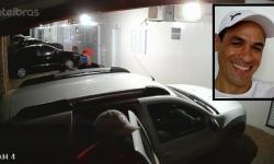 VEJA VÍDEO: Assassinos chegando e saindo após executarem motorista de aplicativo de Primavera