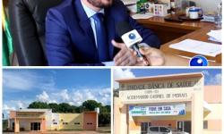 VEJA VÍDEO: Prefeitura de General Carneiro retoma obras inacabadas de UBS da gestão passada