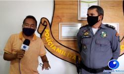 VEJA VÍDEO: Sargento da PM é internado na UTI em Barra do Garças com coronavírus