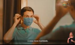AL-MT pede a população para usar máscaras contra coronavírus VEJA VÍDEO