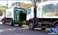 VEJA VÍDEO: Barra do Garças anuncia novos veículos aprimorando o serviço de coleta de lixo