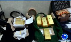 VEJA VÍDEO: 21 quilos de ouro sem nota fiscal são apreendidos no Araguaia tinham como destino Osasco-SP