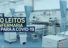 Mais leitos em MT com Hospital Metropolitano na luta a Covid VEJA VÍDEO