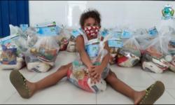 Prefeitura de Barra do Garças já entregou 4 mil kits de alimentos a alunos durante pandemia VEJA VÍDEO