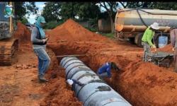 Obras de drenagem e asfalto mudam realidade do Nova Barra em Barra do Garças VEJA VÍDEO