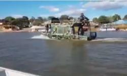 PM fiscaliza Rio Araguaia para evitar acampamentos e aglomerações VEJA VÍDEO
