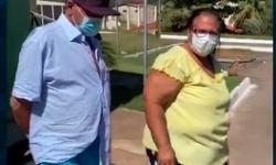 Casal vence coronavírus e volta pra casa em Barra do Garças VEJA VÍDEO
