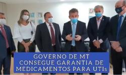 Mauro Mendes consegue remédios para UTIs e ajuda a aldeias de MT contra o Covid VEJA VÍDEO