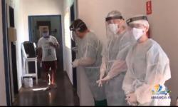 Vídeo mostra mais pacientes recuperados do Covid em Aragarças VEJA VÍDEO