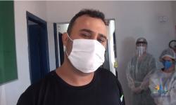 Pacientes ganham alta do Covid em Aragarças e choram de emoção  VEJA VÍDEO