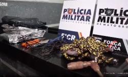 PM evita furto de agência bancária e salva refém em Barra do Garças VEJA VÍDEO