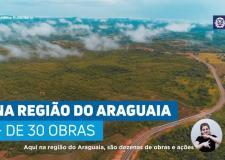 Governo investe em obras para valorizar o Araguaia VEJA VÍDEO