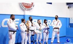 VEJA VÍDEO: Gracie Barra realiza cerimônia de graduação de natal