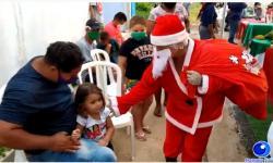 VEJA VÍDEO: Cozinha Solidária realiza evento de natal em Barra do Garças