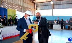 VEJA VÍDEO: Muita emoção na posse do prefeito Adelcino em Pontal do Araguaia