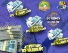 Neste domingo tem uma 'bolada' de R$ 10 mil no Cidade de Prêmios de Barra do Garças, a partir das 10 horas pelo horário de Brasília
