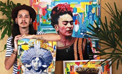 Jovem artista de Aragarças supera dificuldades e ganha reconhecimento internacional