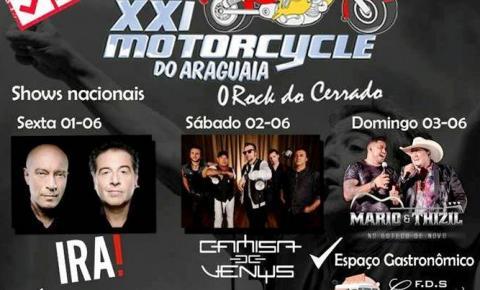 Organização confirma que Motorcycle de Barra do Garças está mantido com dois shows nacionais