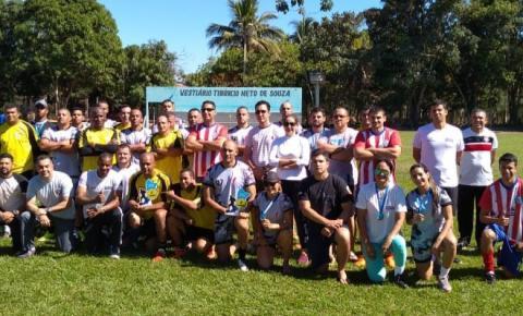 PM realiza Torneio Society do 5º Comando Regional de Barra do Garças; VEJA FOTOS