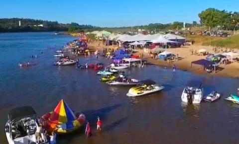 872a4620999e Temporada de praia do Rio Araguaia tem início em Aragarças - Araguaia  Notícia