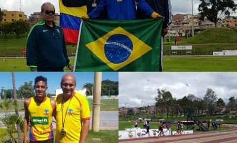 Atleta de Barra do Garças é medalhista de ouro no Sul-Americano de atletismo