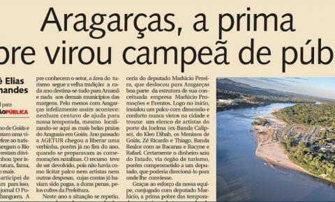 Aragarças, a prima pobre virou campeã de público na Temporada de Praia