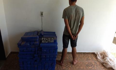 PM apreende mais de 264 kg de maconha em Torixoréu