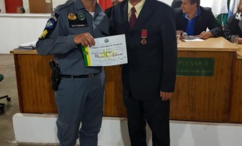 Policiais são homenageados por diminuírem crimes em Torixoréu