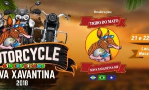 Nova Xavantina realiza seu 8º Motorcycle dias 21 e 22 de setembro