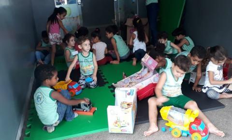 Creches de Barra do Garças recebem brinquedos para lazer das crianças