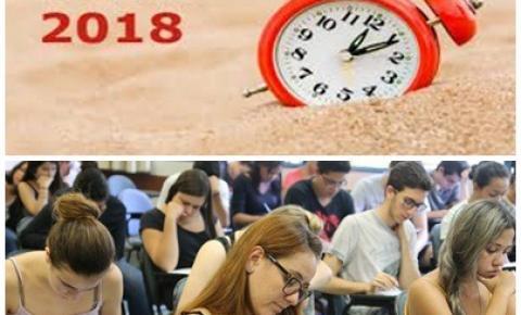 Atenção candidatos do Enem de Barra do Garças e região com início do Horário de Verão, a prova de domingo será ao meio-dia