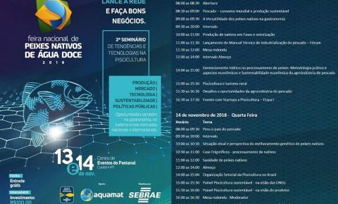 Delegação de Barra do Garças participará da maior feira de peixes nativos de água doce do país