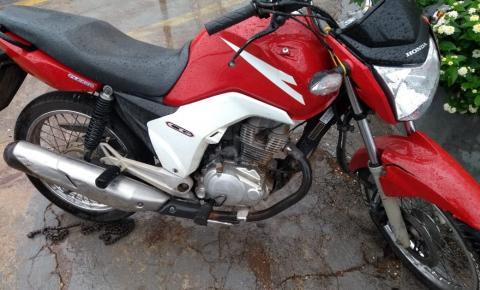 PM recupera moto com queixa de furto em Barra do Garças roubo / furto