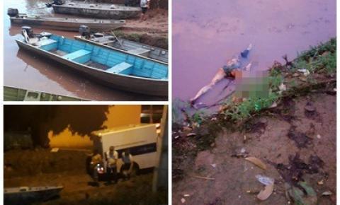 Corpo é encontrado boiando perto do cais de Araguaiana