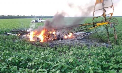 Queda de avião mata duas pessoas na região do Vale do Araguaia