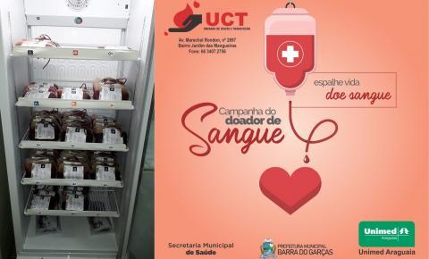 Campanha do doador obtém sucesso em Barra do Garças com arrecadação de 116 bolsas de sangue