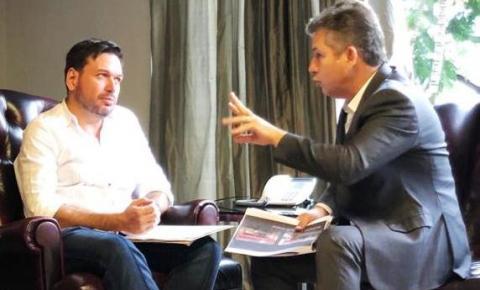Roberto Farias expõe crise na saúde e recebe garantia de repasses em dia de Mauro Mendes