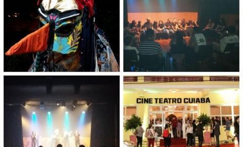 Companhia de teatro de Aragarças se apresenta em Cuiabá