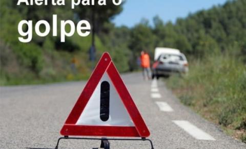Criminosos tentam aplicar golpe do 'carro quebrado' em jornalista do Vale do Araguaia
