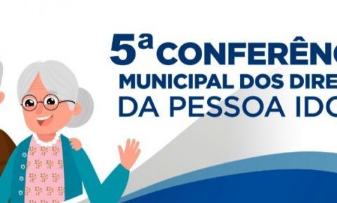 Barra do Garças realiza nesta quarta (20/3) a Conferência sobre os direitos da Pessoa Idosa