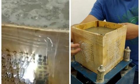 Pesquisa de alunos da UFMT de Barra do Garças 'brinca' com a física clássica ao curvar a luz em estruturas de concreto
