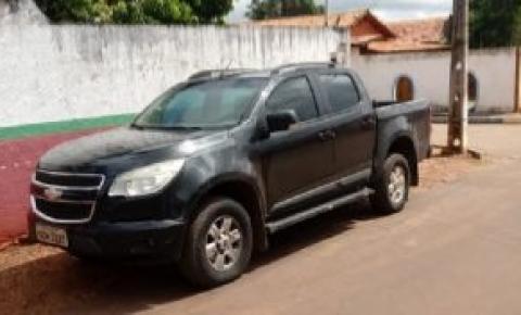 Suspeito de roubar caminhonete no Araguaia é preso no Maranhão